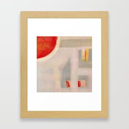 Opportunity Knocks Framed Art Print