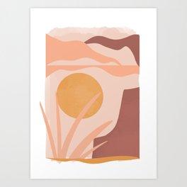 Elsie v2 Art Print