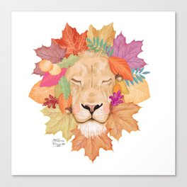 Autumn Leon Canvas Print