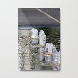 Water4 Metal Print