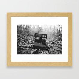 Polaroid Framed Art Print