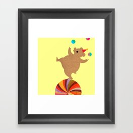 Circus Bears I Framed Art Print