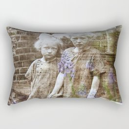 Sisters Vintage Rectangular Pillow