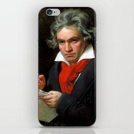 Ludwig van Beethoven (1770-1827) by Joseph Karl Stieler, 1820 iPhone Skin