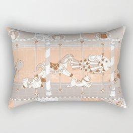 The Unpluged Amusement Park Rectangular Pillow