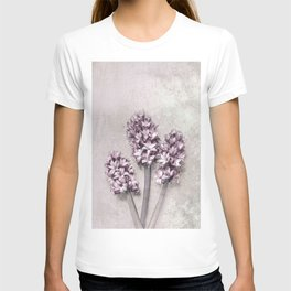 Delicate Hyacinths T-shirt