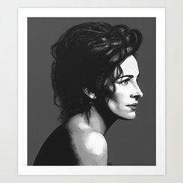 Julia Roberts Portrait Art Print