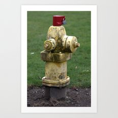 Fire Hydrant Art Print