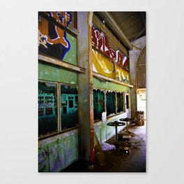 Oil Fields Canvas Print