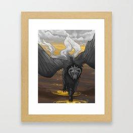 Okuri Framed Art Print