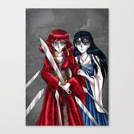 Yona & Lili Canvas Print