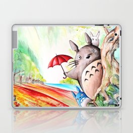"""Behind the tree"" Laptop & iPad Skin"