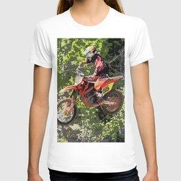 High Flying Racer - Motocross Champ T-shirt