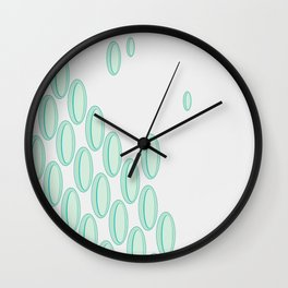 Tuesday Flow Wall Clock