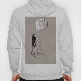 Moon Milk - Moonbathing Goddess Illustration Hoody