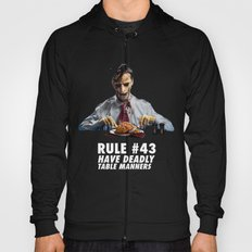 Zombie Etiquette : Table Manners Hoody