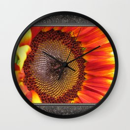 Sunflower from the Color Fashion Mix Wall Clock