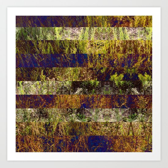 Super Natural No.4 Art Print