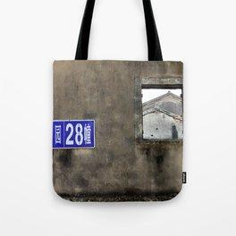 Window Canvas Tote Bag