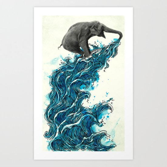 Self Serve/Surf Art Print