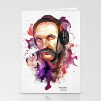 springsteen Stationery Cards featuring Cossack Ivan Sirko listen music by Sitchko Igor