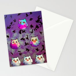 owl-444 Stationery Cards