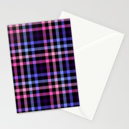 Omnisexual Pride Plaid Stationery Cards
