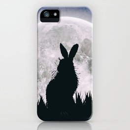 The Hare's Moon iPhone Case