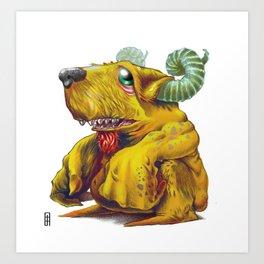 Beelzepup Art Print