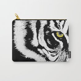 Art print: Eye of the tiger Carry-All Pouch