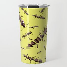 Ants erase and rewind Travel Mug