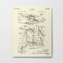 Sailing Rig 02-1967 Metal Print