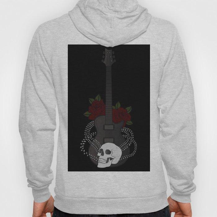 Skull and Guitar Hoody