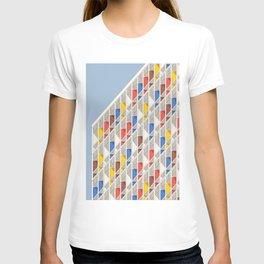 Le Corbusier architecture illustration minimalist Facade Cité Radieuse T-shirt