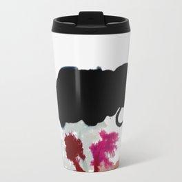Begin [2]: a minimal abstract mixed media piece Travel Mug
