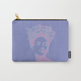 frida kahlo (purple version) Carry-All Pouch