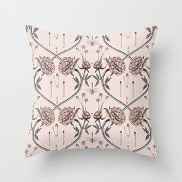 Tiny garden secrets Throw Pillow