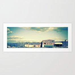 Papermill Art Print