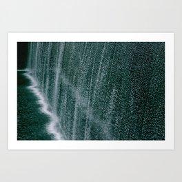 WATERFALL-9/11 MEMORIAL Art Print