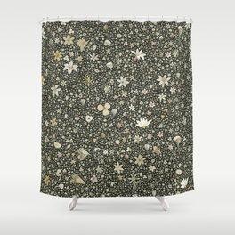 Flourished pattern Shower Curtain