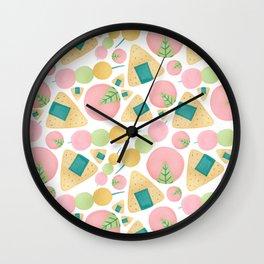 Japanese Snacks Wall Clock