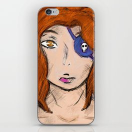 Lady in Strife iPhone Skin