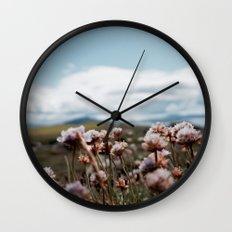 Love, Flowers  Wall Clock