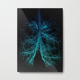 Aqua Lungs Metal Print