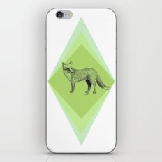 fox in forest iPhone & iPod Skin