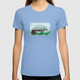 """""""The Manatee"""" by Amber Marine ~ Watercolor Painting, (Copyright 2015) T-shirt"""