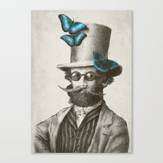 Doctor Popinjay (Color Option) Canvas Print