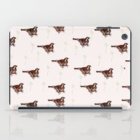 sparrow iPad Cases featuring Sparrow by Fine Cut