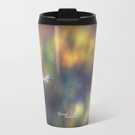 Dragon Fly Blur Travel Mug
