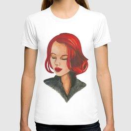 Black Widow; Scarlet Johansson T-shirt